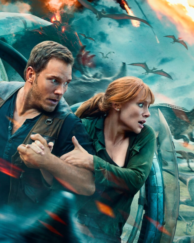 Film: Jurassic World: Fallen Kingdom/ Un regat în ruină