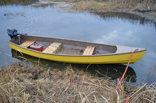 Square Stern Canoe