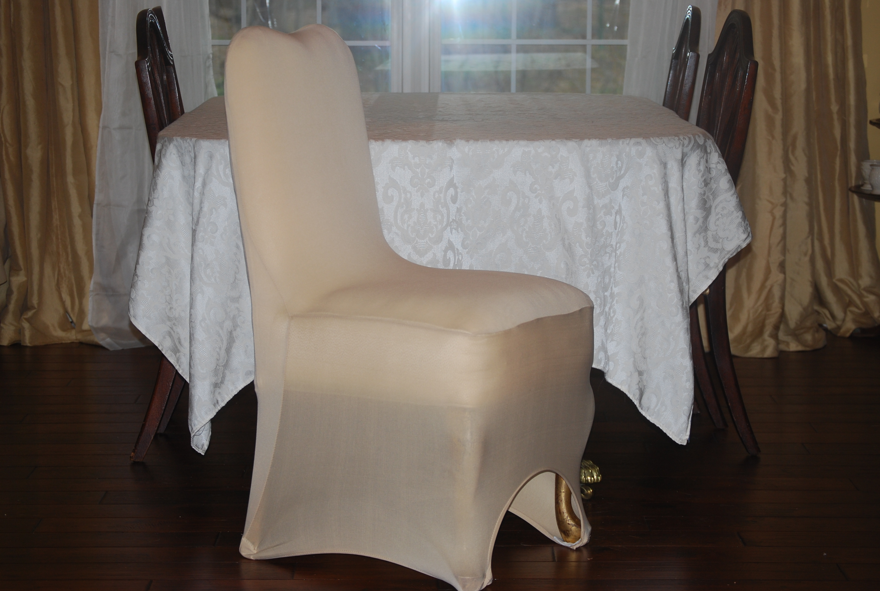 Champagne Chair Covers Lot Of 171 Champagne Chair Covers Table Linen Size Only 189 00
