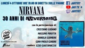 Jam TV - Music Room - Nirvana - Nevermind_LUNEDì 4 O TTOBRE_bassa