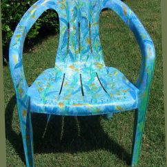 Plastic Resin Chairs Universal Chair Covers Walmart Register Decorative Art Classes Mosaic Zentangle