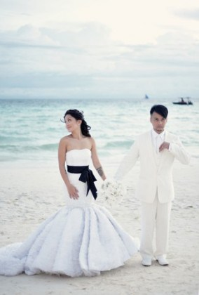 10 PH Celebrity Beach Wedding Inspirations Bravoweddingsph