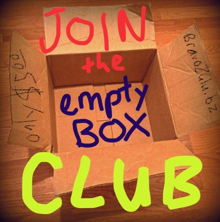 Join the Empty Box Club