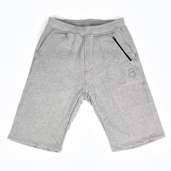 Heather Grey Fleece Shorts