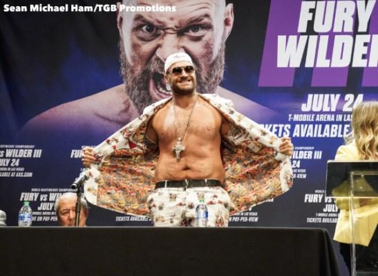 Fury vs Wilder 3 - Press Conference (LA)5