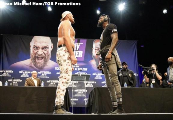 Fury vs Wilder 3 - Press Conference (LA)6