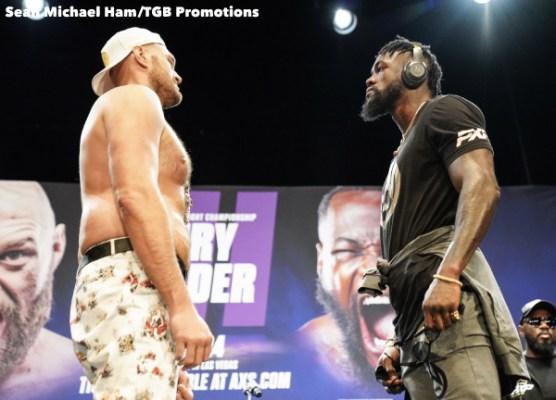 Fury vs Wilder 3 - Press Conference (LA)8