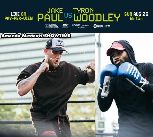 Jake Paul vs Tyeon Woodley