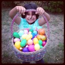 She hit the Easter Jackpot