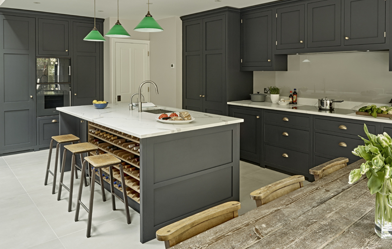 how to design a kitchen gold sink style it dark wimbledon life magazine feature brayer view larger image battersea in contemporary country