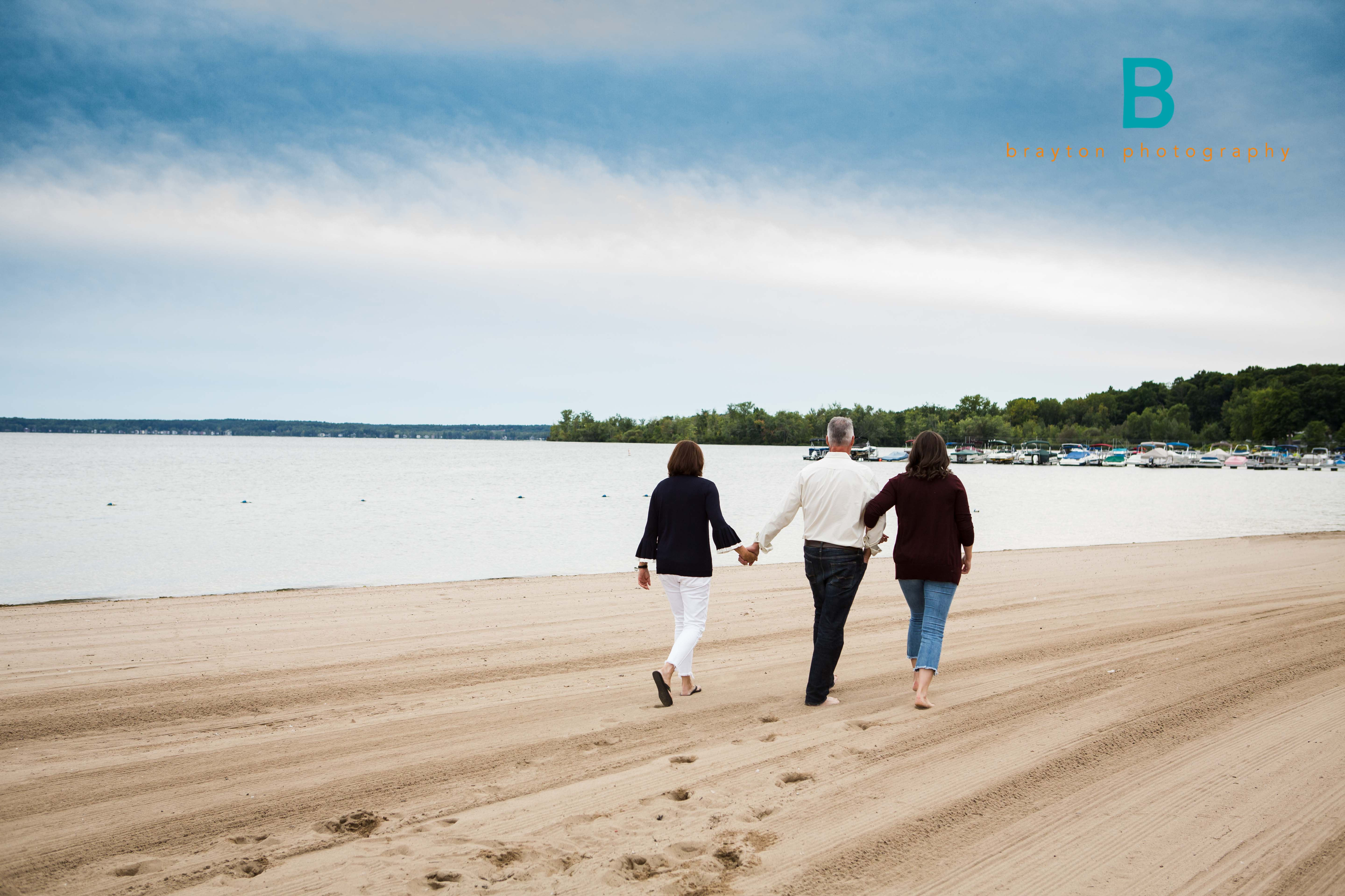 Saratoga Lake Family Session