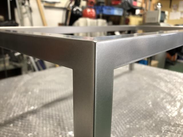 テーブル脚 製作