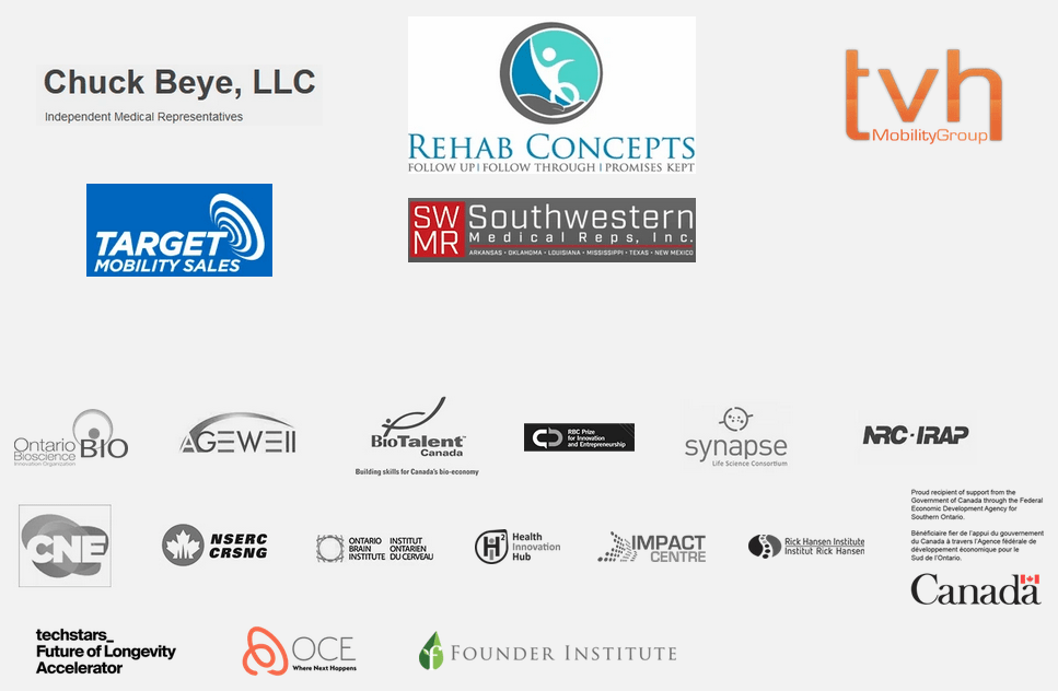 An image with logos of all the partners of Braze Mobility