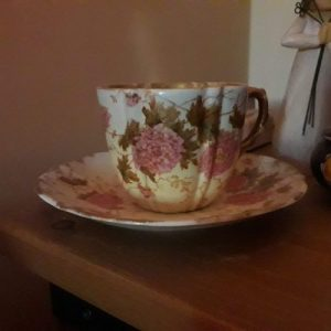 Writing prompt - how a cup and saucer can inspire a whole novel