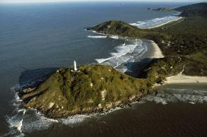 Aerial View of Ilha do Mel's Lighthouse - photo by Priscila Forone