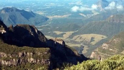 Panoramic view from Morro da Igreja- Urubici- Santa Catarina