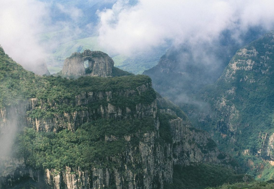 Pedra Furada- Serra Geral Mountains- Santa Catarina
