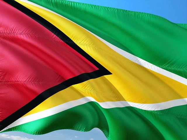 International Flag South America Guyana