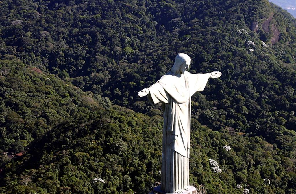 Christ the Redeemer at Rio de Janeiro Brazil www.brazilfilms.com a film production service company