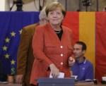 德國大選出口民調 梅克爾4連霸勝券在握
