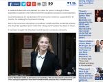 法官認證才華洋溢 牛津正妹免坐牢想再返校園