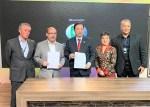 巴中國際發展商會與環球電視台簽合作協議
