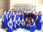 聖保羅中華會館婦女合唱團應邀參加巴西聯邦警察日慶祝會演出