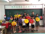 志工陳信汝訪中正僑校 教學手作台灣獅