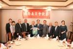 世總新團隊拜會僑委會 吳新興感謝全球台商支持政府