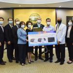 泰國台灣僑胞疫情聯合應變小組捐贈醫療設備支援當地多家醫療機構