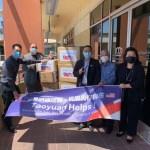 桃園市捐防疫物資 關懷加州姊妹市聖伯納迪諾郡