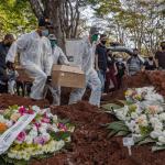 巴西96.4%的城市有新冠病例