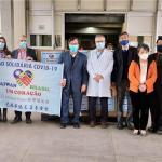 巴西普寧基金會與華僑慈善基金會捐贈防疫物資