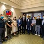 加拿大卑詩省臺灣商會拜會駐溫哥華辦事處 討論疫情影響