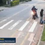 聖保羅一僅650米長的街道中頻發發生搶劫!一小時內已拍到了3起案件!