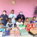 慕義台灣基督長老教會聖誕節送愛心給慈善團體