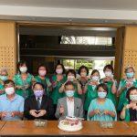 駐聖保羅經濟文化辦事處志工團為徐澤玗組長舉辦歡送會