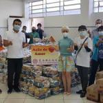 巴西華人贈送基本食物籃給慈善機構