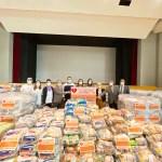 巴西華僑響應「打疫苗捐糧食」捐糧救濟貧困民眾