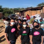 范媽媽慈善基金會捐贈民生物品給聖市偏鄉地區貧困家庭