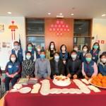 聖保羅僑教中心志工組舉行歡迎劉俊男主任和蔡紹方副主任餐會