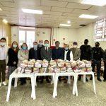 聖保羅僑界捐贈1650個基本食物籃給貧困家庭
