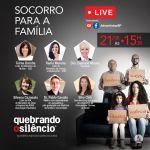巴西復臨婦女聯合會舉行《打破沈默 拯救家庭》線上直播活動
