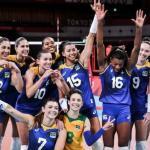 女排八強座次排定,巴西美國第一,意、塞四分之一決賽或提前碰面
