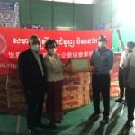 世華柬埔寨分會黃桂沄捐贈物資 展現臺商關懷與愛心