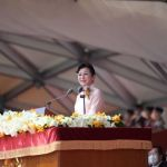 中華民國慶祝110年國慶世華總會長陳阡蕙代表全球僑胞致詞