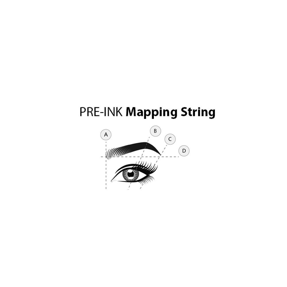 henna brow mapping