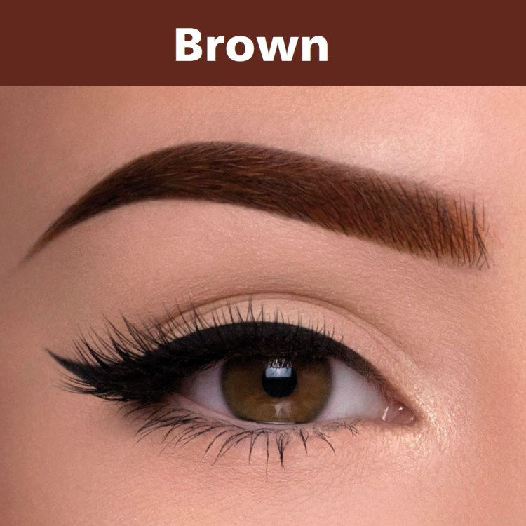 Henna brow brown