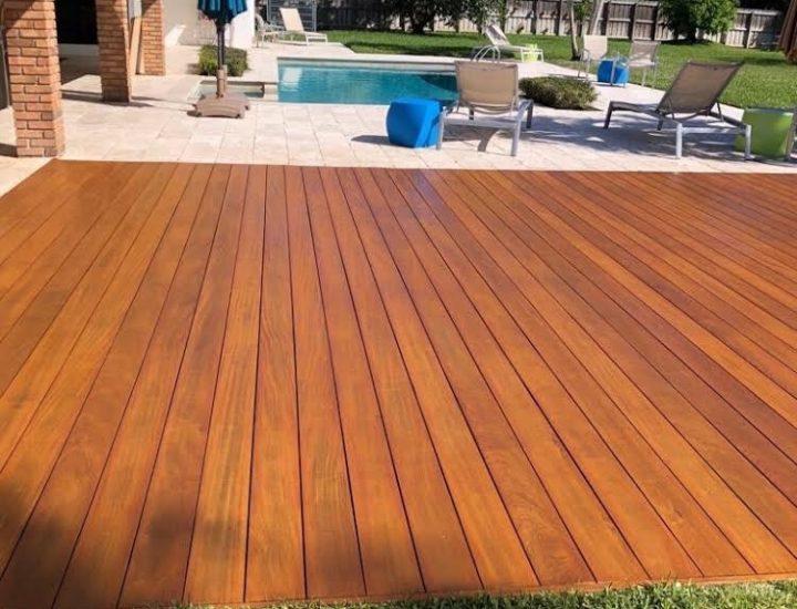 Ipe Hardwood Deck