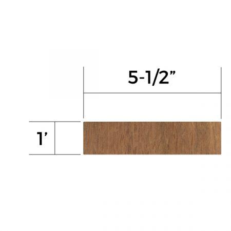 Jatoba 5/4×6